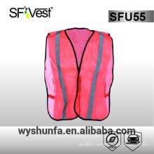 Malla de seguridad chaleco ppe prendas de vestir de seguridad chaquetas de trabajo industrial de alta visibilidad ropa 100% tela de poliéster