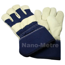 NMSAFETY leather working gloves manufacturer