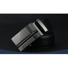 Leather material mens automatic belt