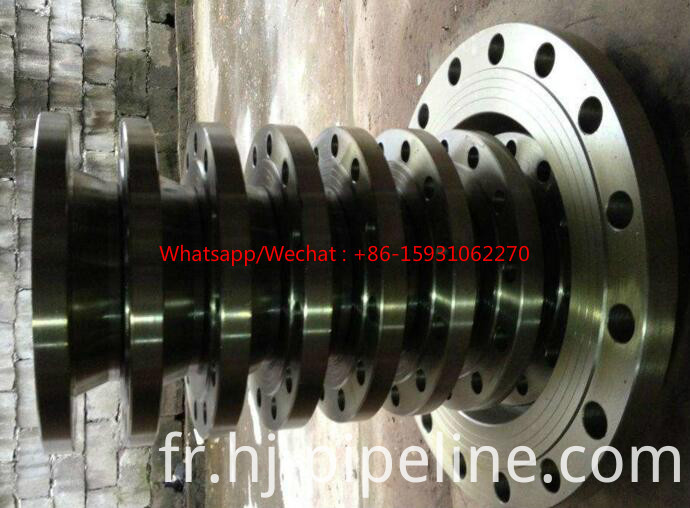 weld neck forged pipe flange