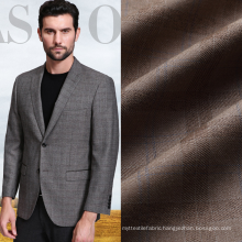 polyester rayon wool men's suiting fabric
