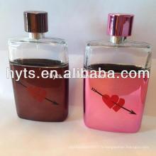 grandes bouteilles de parfum d'affichage