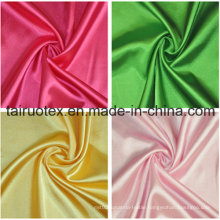 100% Polyester Satin for Lady Dress Clothes Fabric