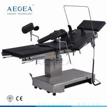 AG-OT010B salud médica eléctrica hidráulica clínica móvil mesa de operaciones