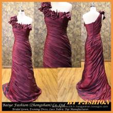 Robe de soirée formelle de mode de soirée longue Robe de soirée longue satinée BYE-14079