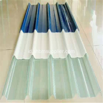 UV-Blocking Anti-korosi Clear FRP Roofing Sheets