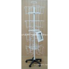 Floor Rotary Frames Display Rack (PHY2036)