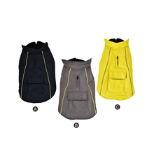Polyester  Sustainable Stocked  Customized Color Essentials Waterproof Dog Rain Coat