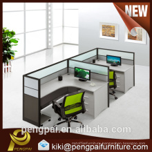 Office partition workstation furniture and glass office dividers