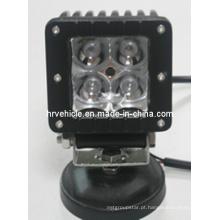 Luz do trabalho de 4PCS * 4W CREE LEDs para caminhões