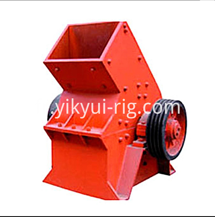 High Efficient Stone Crushing Machine Gold Ore Hammer Mill 2
