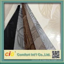 Mais recente estofos em couro PVC Design