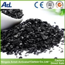 Superficie grande Carbón activado a base de cáscara de coco