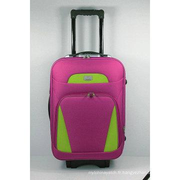 Caisse souple de bagage de voyage de chariot extérieur de la mode EVA