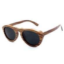 2014 Gafas de sol más nuevas de la madera de la cebra de la manera (JN0004HQ)