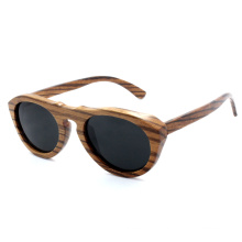 2014 Newest Fashion Zebra Wood Sunglasses (JN0004HQ)