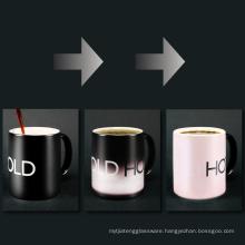 COLD HOT color changing coffee mug Magic Mugs Color Changing Mugs Heat Sensitive cup