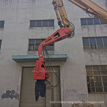 Cthb Hydraulic Vibro Hammer in Excavator Building Bridge for Construction