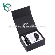 2017 Классические Новые Черные Коробки Подарка Профессиональное Изготовление Элитных Ювелирных Украшений Часы