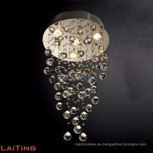 Lámpara de cristal de bacará tradicional araña de luces art deco art deco para el hogar 92042