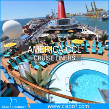America CCL Cruise Liner Rattan Outdoor Furniture Project