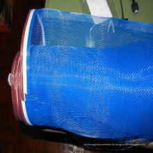 Malla de malla de fibra de vidrio a prueba de fuego color azul