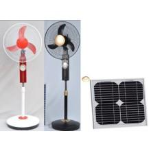 Ventiladores solares Jsf-12V16k con cargador de CC (JSF-12V16K)