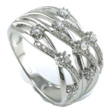 Кольцо ювелирных изделий стерлингового серебра способа оптовой продажи 2015 самое новое 925 (R10325)
