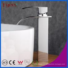 Fyeer High Body Simple Waterfall grifo de lavabo grifo mezclador de agua