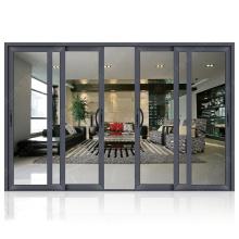 Puertas de entrada del hotel a prueba de tormentas de doble vidrio laminado de nuevos productos calientes