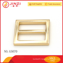 Jinzi brand 25mm nickle color high quality handbags buckle parts