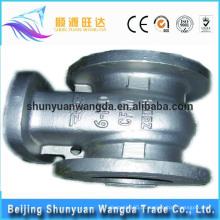 Bom desempenho de assento marinho válvula de titânio de fundição peças válvula de portão industrial