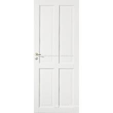 Four Panel White Primed Stile & Rail Door