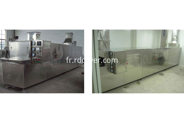 tunnel drying oven