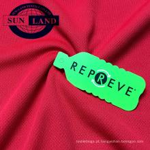 100% poliéster reciclado malha de malha birdeye para sportswear OUTRO ESTILO / PROJETO VOCÊ PODE GOSTAR: