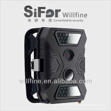 Câmera de segurança video do vídeo de 5/8 / 12megapixels 720P com visão nocturna do cartão GPRS / MMS 20m do sim