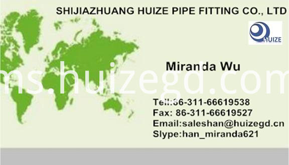 business card for cs spade spacer flange