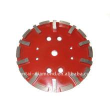 Roda de corte de diamante para piso de concreto de ligação suave