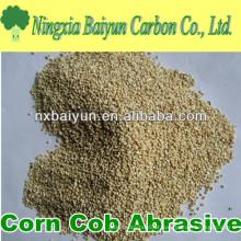 Abrasivo de milho de milho de Shanghai para polir