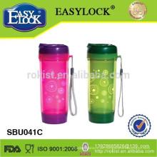 doppelwandige Plastikwasserflasche / Sportflasche / Teekanne / Trinkflasche