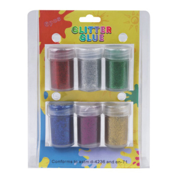 Polvo del brillo 6pcs