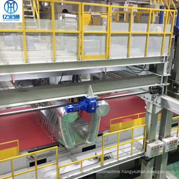 PP meltblown non-woven fabric production line
