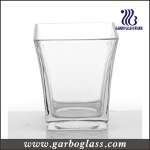 Candle Holder, Clear Glass Cup (GB2252-1)