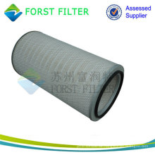 FORST Heap Filtration Cellulose Papier Spun Bonded Filter Luftpatrone