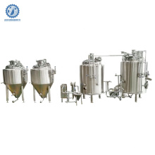 used nano beer brewery equipment 100l-1000l