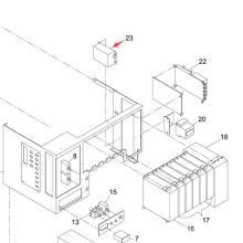 Panasonic SMT NF para la impresora de pantalla Sp60p-M (KXFP6G0GA00)
