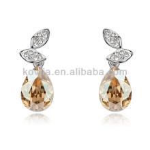 Boucles d'oreille à la larme de mode bijoux à cristaux liquides à vendre