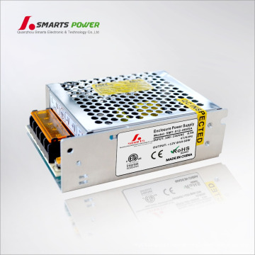 ETL aufgeführt 12V 60 Watt Netzteil Metallgehäuse LED-Scheinwerfer elektrische Fahrer
