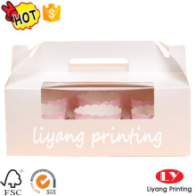 Hot sale cup cake packaging paper box
