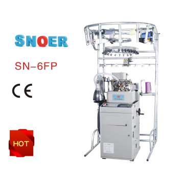 Snoer Knitting Machine with 6 Needle Selection